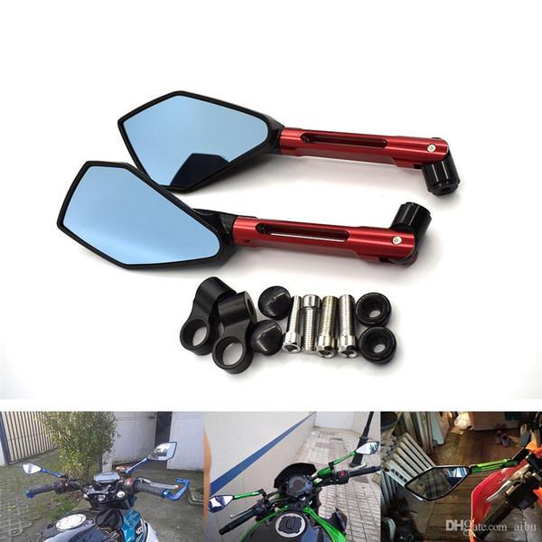 Motorcycle Chrome Blade Mirrors For Suzuki Boulevard C50 C90 C109R M109R M90