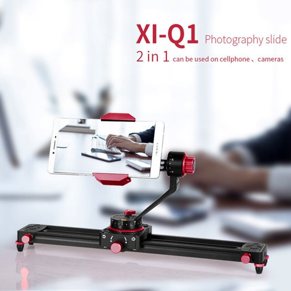 Cimapro XI-Q1 Tabletop Mini Smartphone Video Track Dolly Slide Rail System for Arca Swiss Ball Head Work with Digital Camera
