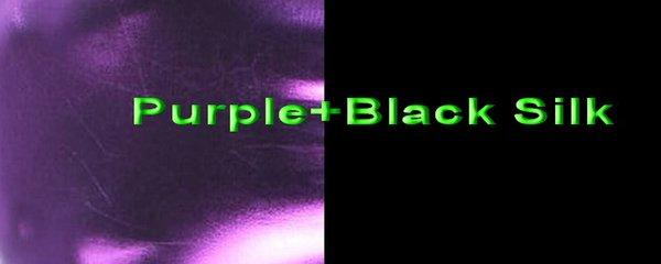 Purple+Black Silk