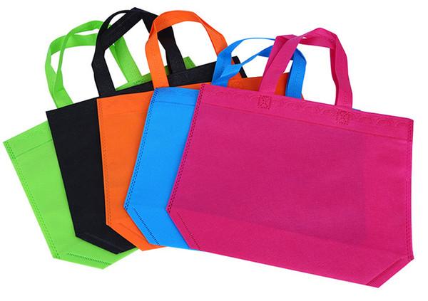 20 Stück Non Woven Tasche Einkaufstaschen Eco Werbe Recyle Tasche Tragetaschen Custom Make Printed Logo