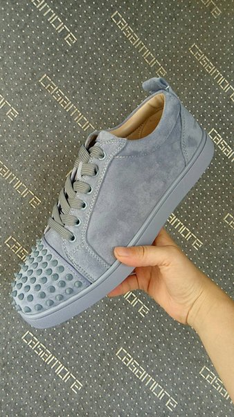 best sneakers cf1af 86899 Wholesale Cheap Women Red Soles,Black Suede Lowtop Sneakers Men Red Bottom  Shoes Top Designers,Junior Shoes Spikes Outdoor Footwear Trainers Cute ...