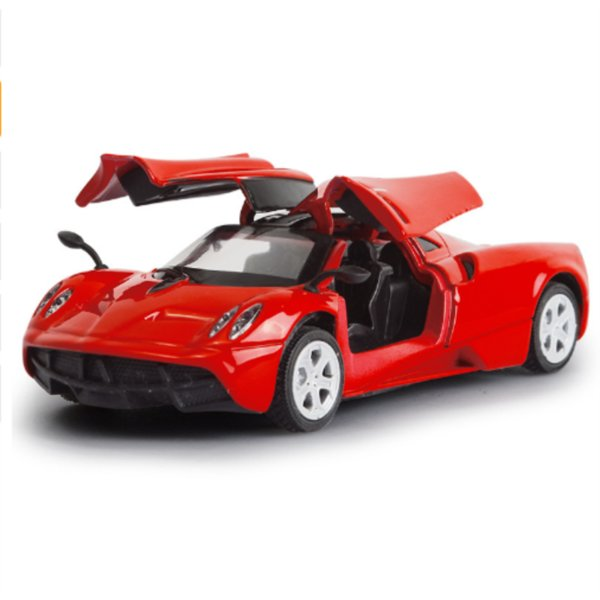 12.5CM Die Cast Model 1/36 Alloy Car Model 5 inch Metal Auto Colorful Wing's Open Doors 4color