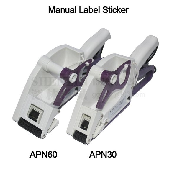 best selling TOWA Label sticker manual labeling machine hand held label applicator ANP30 60 100 adhesive sticker tag labeller SHENLIN Machinery