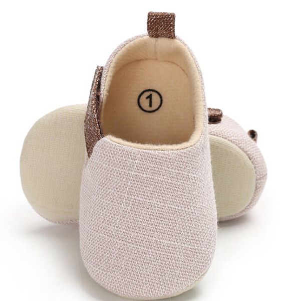 New Cute Infant Baby Boy Pram Shoes Casual Toddler Trainers Cotton Loop Moccasin Fashion Summer Casual Shoes