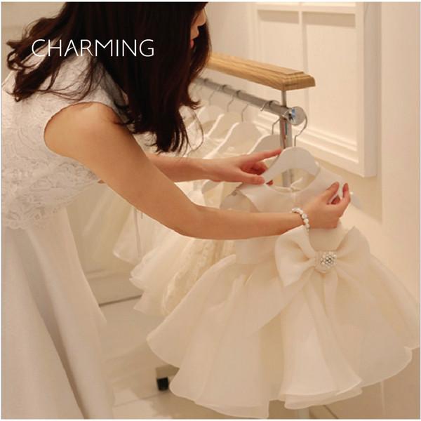 baby girl wedding dres birthday dress 1 year old girl High-quality fabrics Butterfly design Beading technology baby girl fairy dress