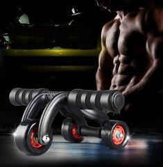 The fitness equipment that makes especially for the exercise abdominal muscle is fitness 3 rounds