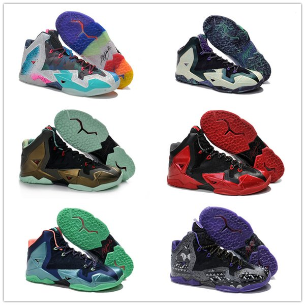 2018 New #23 What The 11 XI Star South Coast BHM Graffiti Basketball Shoes  Good Quality Super Multicolor Mens Trainers Sports Sneakers 7 12 Shoes For