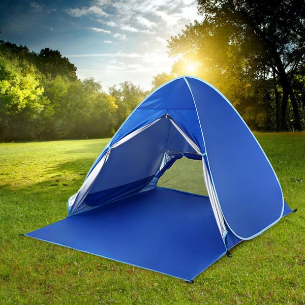 Lixada Automático Instantâneo Pop Up Praia Tenda Leve UV Proteção Sun Shelter Tent Cabana