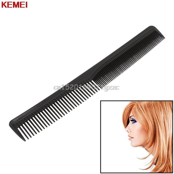Black Salon Anti-static Hairdressing Hair Cutting Plastic Comb Tool #H027#