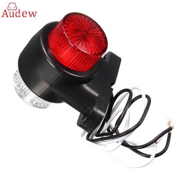 best selling 8 LEDS Car Truck Rear Tail Light Warning Lights Rear Lamps Waterproof Double Sides Marker Trailer Lights 10-24V