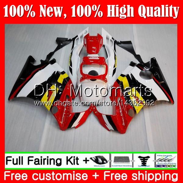 Body For HONDA CBR 600F2 FS Red white CBR600 F2 91 92 93 94 46MT22 CBR600FS CBR 600 F2 CBR600F2 1991 1992 1993 1994 Hot Fairing Bodywork