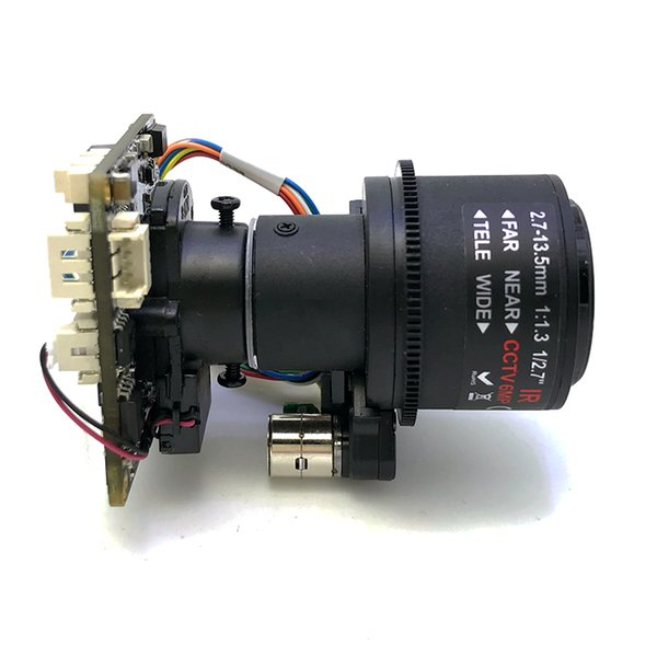 "SIP-E4689DSML-27135 1/3"" OV4689 CMOS 3MP Hi3516D IP Camera Module With 2.7-13.5 mm Motorized 5X Zoom Lens CCTV Board Camera PCB"