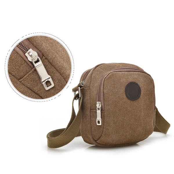 Vintage Canvas Men's Crossbody Over Shoulder Messenger Bags Handbag Leisure Travel Bag WML99