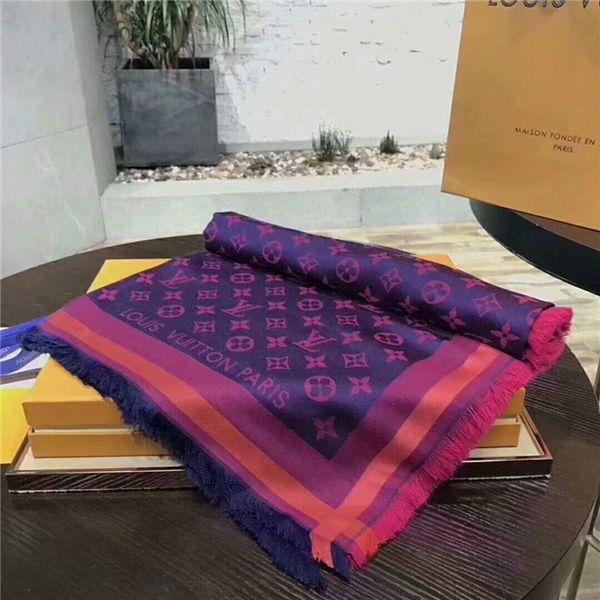 Schal-Art und Weise Paris-Art und Weiseschau-Art und Weisemarken-Schal der Qualitäts hochwertiger spätester großer 140 * 140 Dreieckschal des Entwurfs
