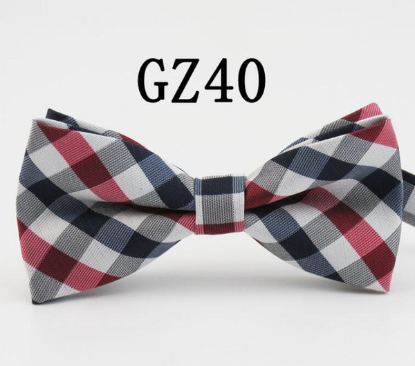top popular 2018 high-grade grid bow tie stage tie Male or female bow ties for men necktie royal family tie core with the wedding supplies 40 2020
