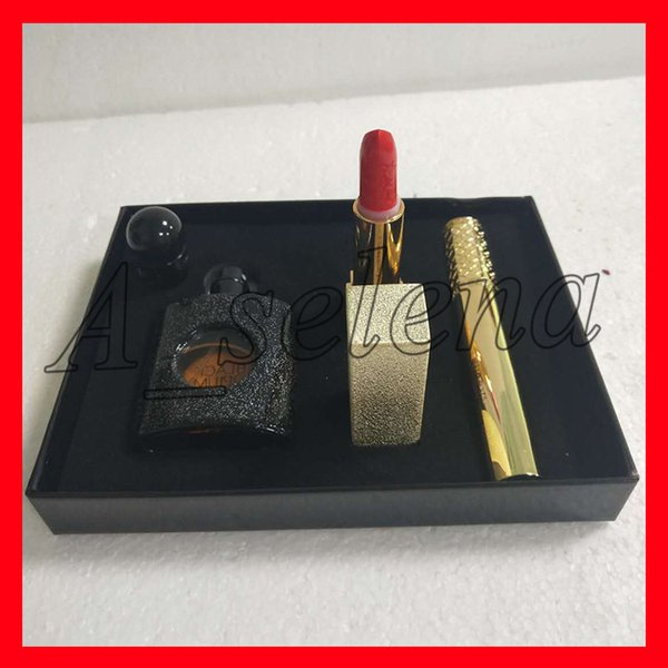 Famou y brand makeup et kollection lip tick ma cara perfume 3 in 1 make up kit hipping