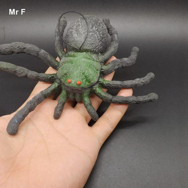 16cm Big Horror Spider Toy Animal Gag Practical Jokes Games Halloween Gift Pretend Toy Educational Prop Teaching Adi