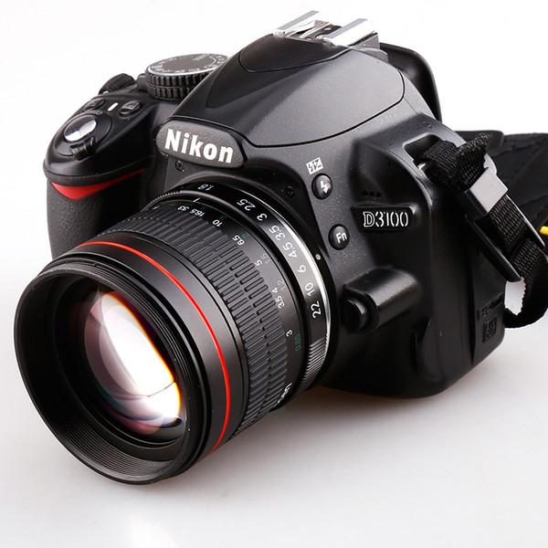 85 мм F / 1,8 средний телеобъектив с объективом Prime для объективов цифровых фотокамер