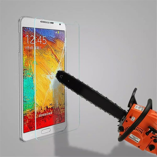 For Samsung Galaxy A9 Film Tempered Glass Screen Protector 9H 2.5D Anti-Fingerprint Coating for Samsung Galaxy Note A5 A6 A7 A9