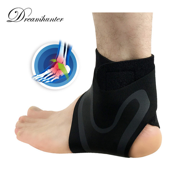 Compression Ankle Supports Anti Sprain Outdoor Basketball Football Ankle Brace Protectors Straps Bandage Wrap Foot Safety
