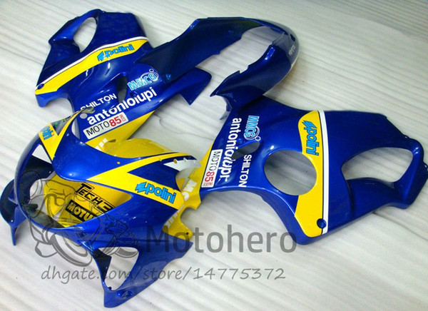Injection molding Free Gifts Bodywork For HONDA CBR600 F4 1999 2000 CBR 600F4 99 00 CBR 600 F4 99-00 CBR600FS FS Fairing Kit Blue O93274