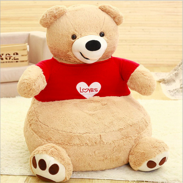 Admirable 2019 Children Seat Sofa Washable Stuffed Kids Teddy Bear Cartoon Bear Skin Upscale Baby Chair Toddler Nest Puff Seat From Julie2017 153 65 Pabps2019 Chair Design Images Pabps2019Com