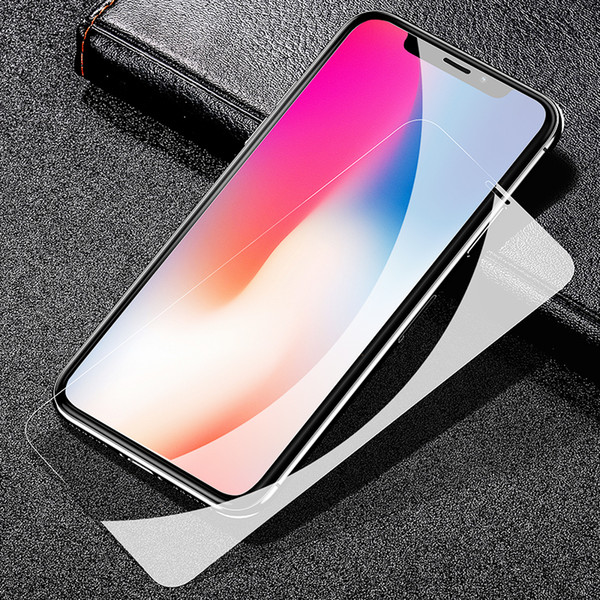 New iphone XS tempered glass full cover screen protector film Iphone XR Phone protective tempered glass for iphone X Accessories 3D