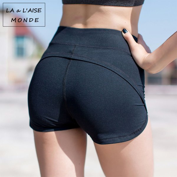 Hot Women's Compression Sports Tights Short For Sport Wear Yoga Femme Training High Waist Gym Shorts Woman Workout Female