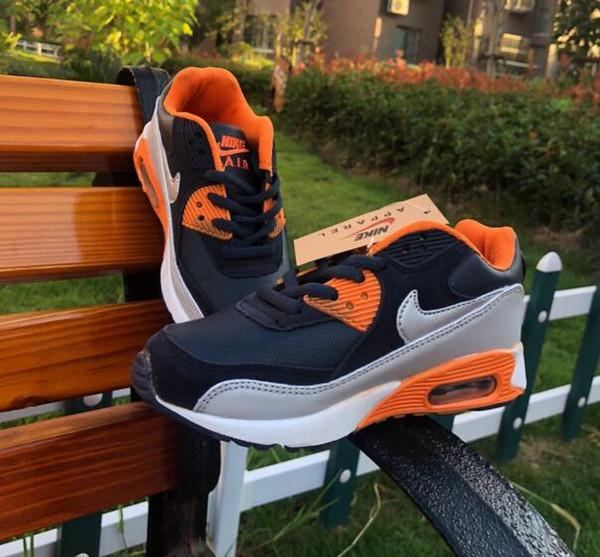 Новые девушки повседневная спортивная обувь классические детские кроссовки на плоской подошве высокого качества Модельер Стиль Принцесса Мягкая нижняя детская обувь