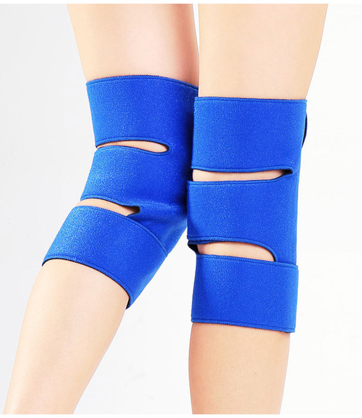OK Cloth Blue Han Wentomalin Spontaneous Heat Protection Knee Thickening Magnet To Keep Warm Universal Adult