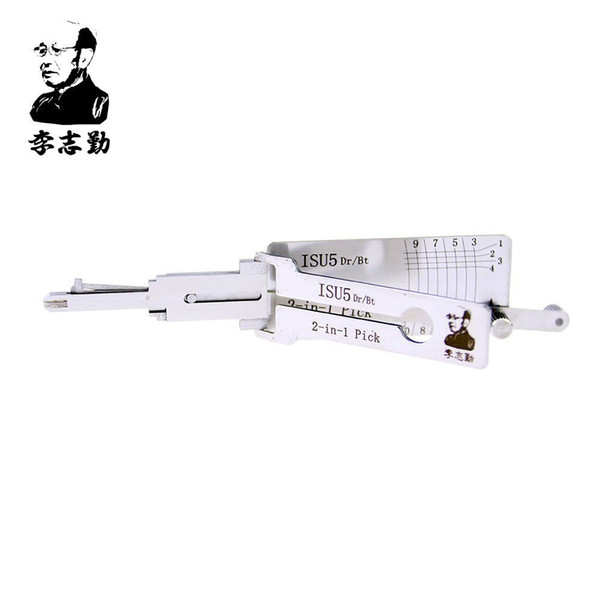 best selling Lishi 2 in 1 ISU5 Dr Bt Decoder and Pick