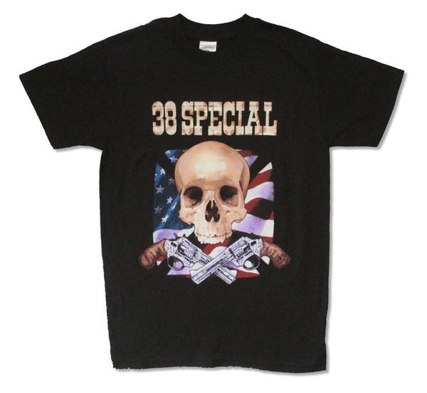 38 T-shirts Spéciaux Wild Eyed Tour 2007 T-shirt Noir Nouveau Tshirt Style Officiel