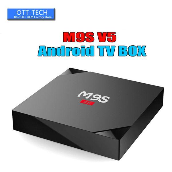 RK3229 M9S V5 Android TV Box 4K HDR H.265 HEVC media player 1GB 8GB Internet TV Box Better MXQ PRO S905W