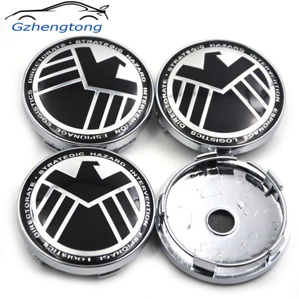 Gzhengtong колеса автомобиля центр ступицы эмблемы термоаппликации корпуса крышка колеса центр колпаки ступиц изменить 60мм