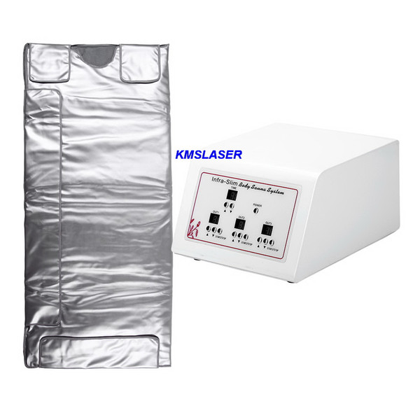 3 heating control zone infrared body slimming sauna blanket CE aproved Free Shipping