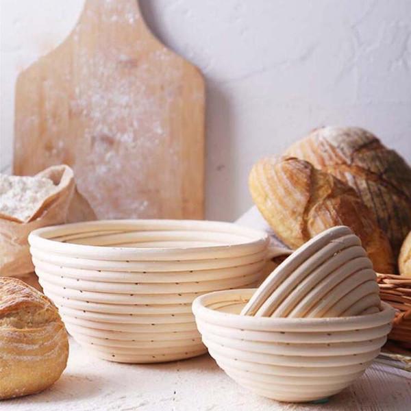 Neue vietnamesische Rattan Schüssel Brot Schimmel Brot Gärung Korb Lagerung Korb Backen Utensilien Küche Backen Werkzeug