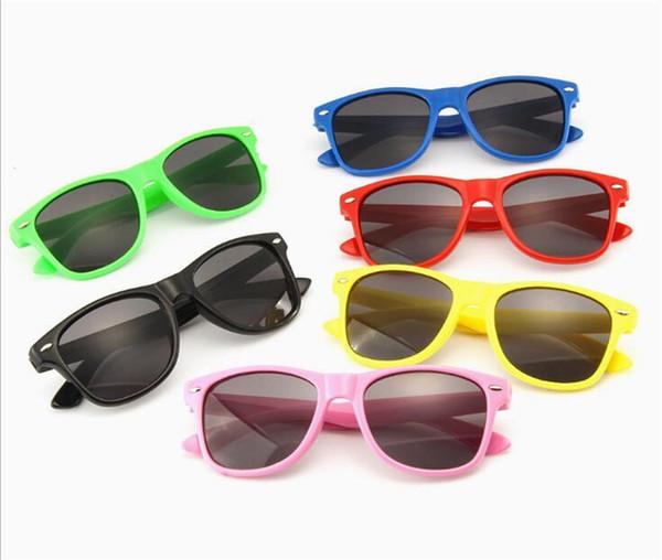 Fashion Brand Kids Sunglasses Child Black Sun Glasses Anti-uv Baby Sun-shading Eyeglasses Girl Boy Sunglass to718