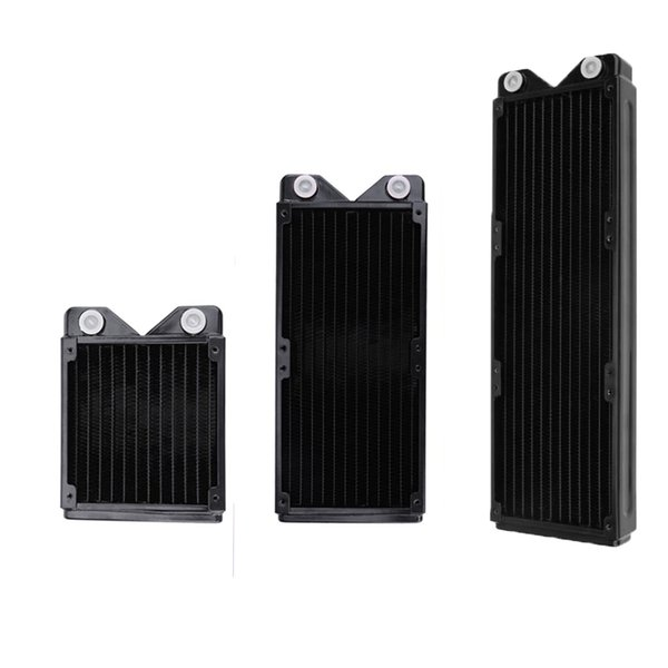 120mm/240mm/360mm Full Copper Water Cooled Exchanger Water Cooling Computer Heat Sink Radiator for PC Cooling System