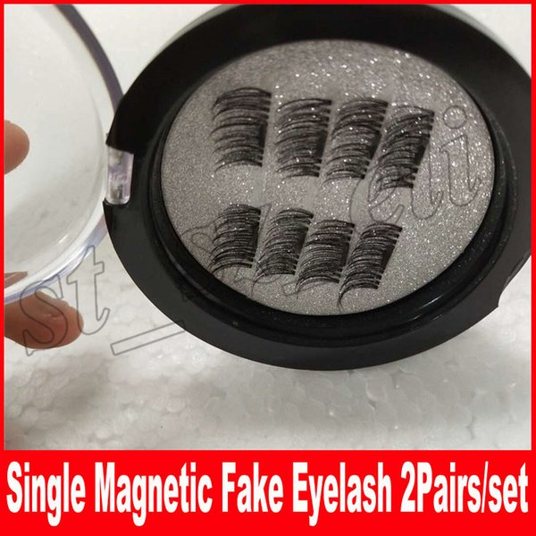 Single Magnetic Eye Lashes 3D Mink Reusable False Magnet Eyelashes Extension 3d eyelash extensions magnetic eyelashes makeup