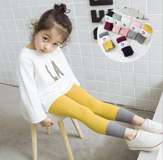 Autumn Lace Legging Children Baby Air conditioning Tights Mosquito Tights Pants Girls Fashion Nice Legging Pants 12colour 60603