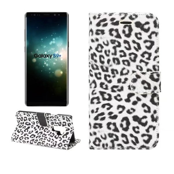 Sexy leopard print Leather Case For Samsung Galaxy S9 Wallet Flip stand Cover carcasas With Card Slot Mobile Phone Bags
