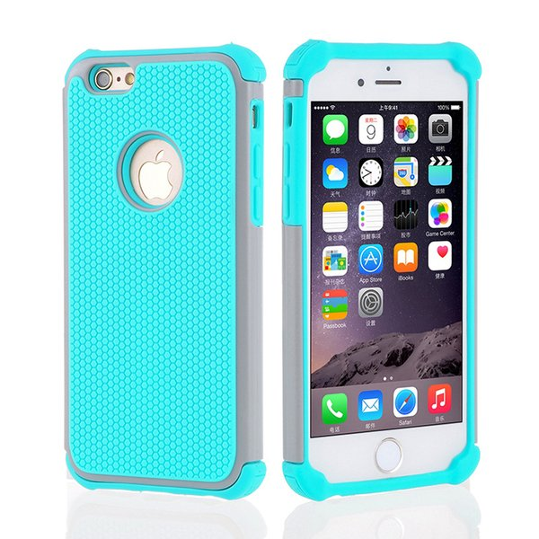 Latest Protective for samsung galaxy s7 edge case 3in1 football grain honey comb heat dissipation robot phone case for Samsung mobile case