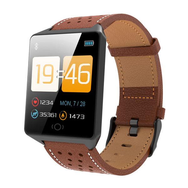 Fashion CK19 Smart Watch IP67 Waterproof Bluetooth 4.0 Watch Calls Reminder Pedometer Sleep Monitor Heart Rate For Android IOS.