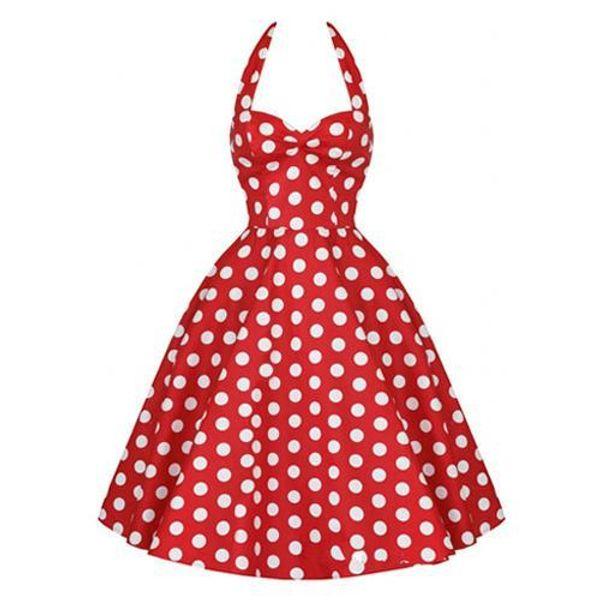 377e9d129019f 2018 Summer Plus Size Retro 50s Swing Pin up Dress Polka Dots Rockabilly  Plaid Vintage Dress