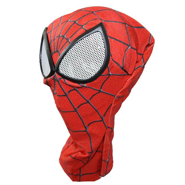 Xmas Gift 3D Digital Print Spiderman Mask Halloween Superhero Venom Cosplay Mask Prop Spider-Man:Homecoming Party Mask Costume