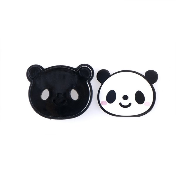 New Sale 4 Pcs Kawaii DIY 3D Panda Cookie Mold Cookie Cutter Chocolate Molds Biscuit Mould Bakeware Pan Gift