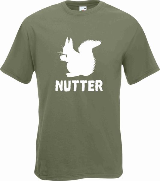 Белка Nutter футболка смешно бесплатная доставка унисекс повседневная