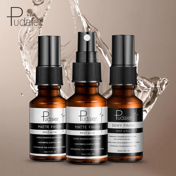 2018 new Pudaier makeup spray 30ml easy to export moisturizing oil control hydrating matte spray toner Setting Spray