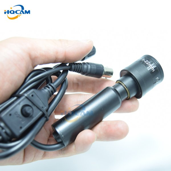 HQCAM SONY Effio-E 700TVL CCD OSD menu Mini Bullet Camera Indoor Security Camera 4140+810\811 9-22mm manual varifocal zoom len