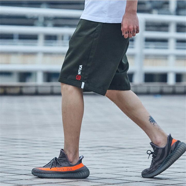M-2XL Shorts Men Loose Elasticity Cargo Shorts Men New Summer Casual Cotton Plus Size Quality Trousers Male A5312